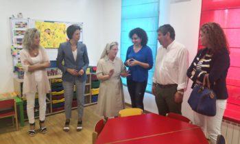 A directora xeral de Familia vistou os nosos centros San Aníbal en Burela