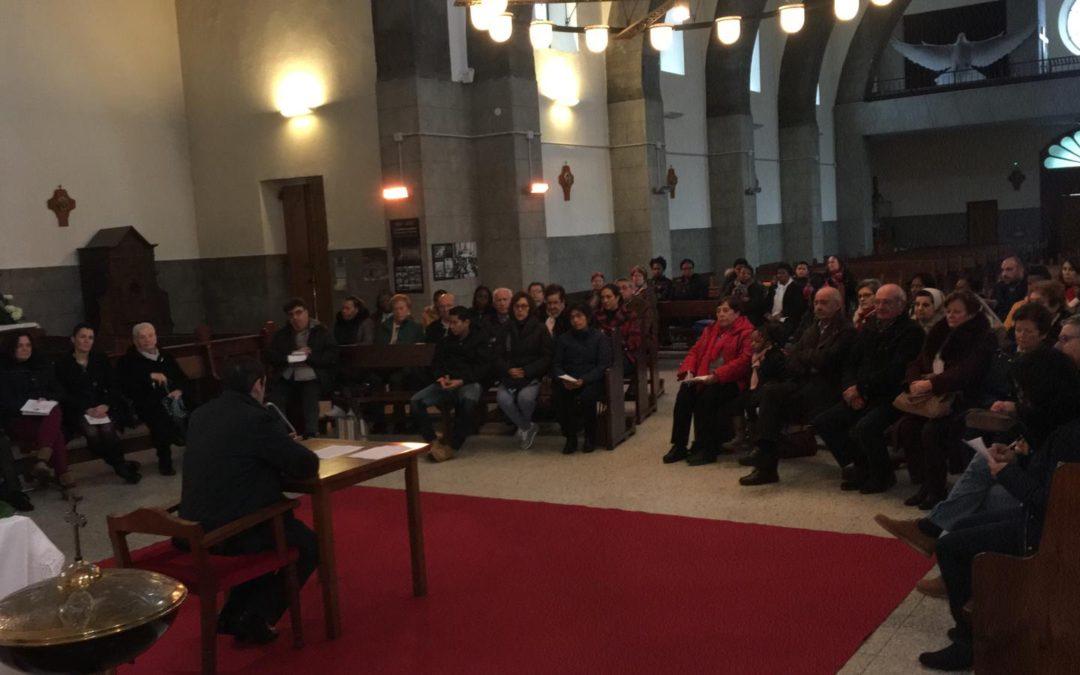 LA COMUNIDAD DE HIJAS DEL DIVINO CELO DE BURELA ASISTEN A LA CONVIVENCIA DEL REINO
