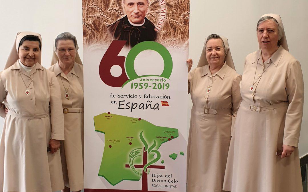 CELEBRAMOS LA FESTIVIDAD DE SAN ANÍBAL Y DAMOS GRACIAS POR LOS 60 AÑOS DE PRESENCIA EN ESPAÑA