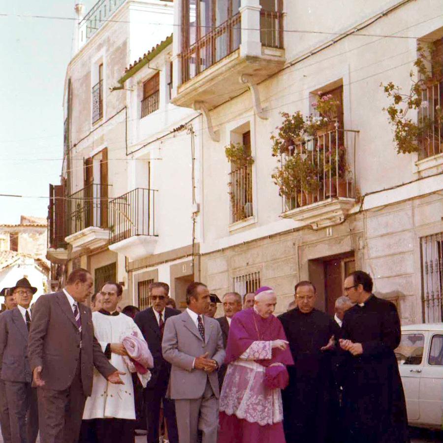 Asilo Santa Isabel en Torrejoncillo(Cáceres, 1974)