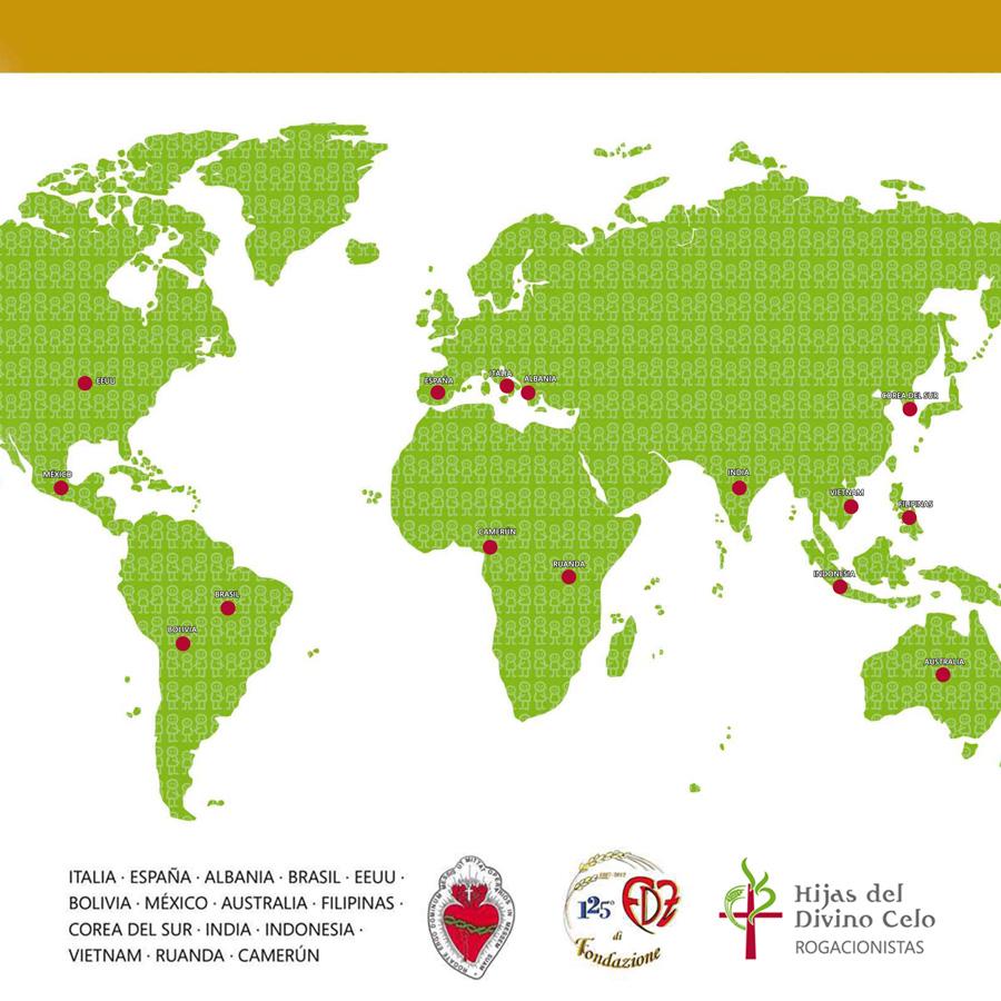 Una Misión en el Corazón de Dios(nuestra Congregación en el mundo)
