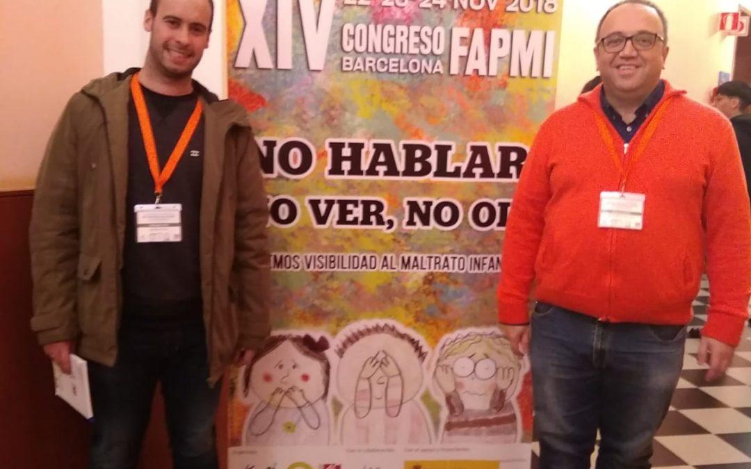 PARTICIPANDO EN BARCELONA EN EL XIV CONGRESO INTERNACIONAL DE INFANCIA MALTRATADA
