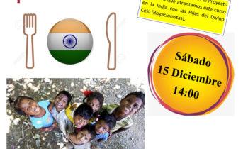 Comida Solidaria para recaudar fondos para las Misiones en India