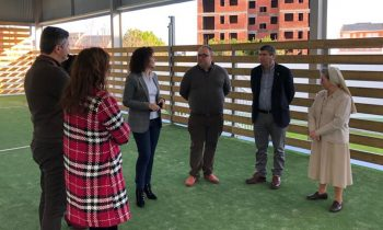 LA DIRECTORA XERAL DE FAMILIA DA XUNTA DE GALICIA NOS VISITA POR NAVIDAD